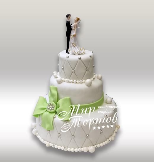 Свадебный торт стеганый