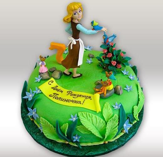 Торт Золушка