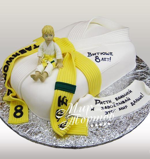 Торт каратисту