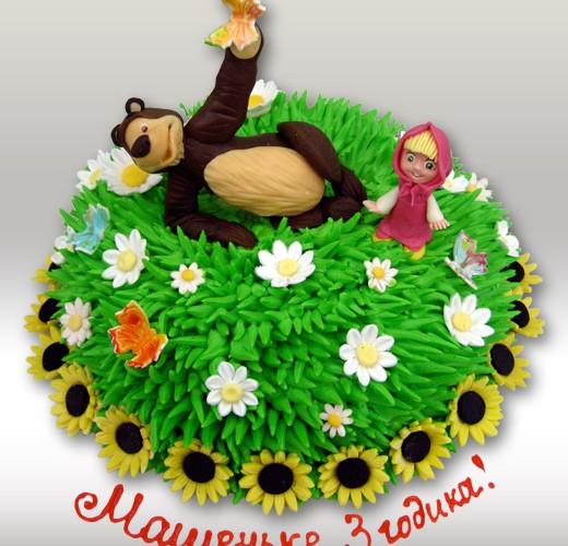 Торт с Машей