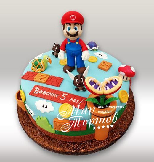 Торт игра Марио