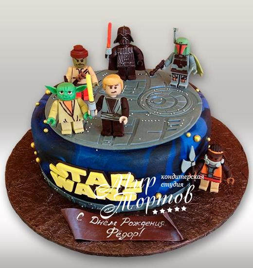 Торт star wars
