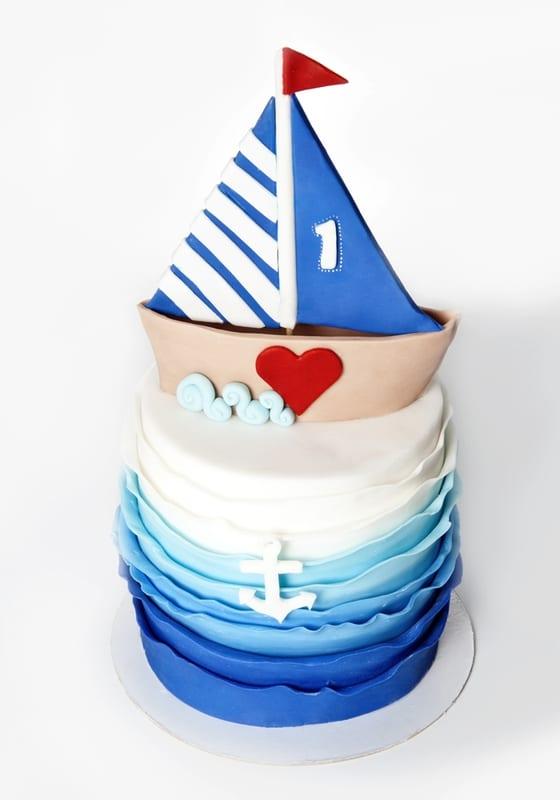Торт Кораблик с якорем