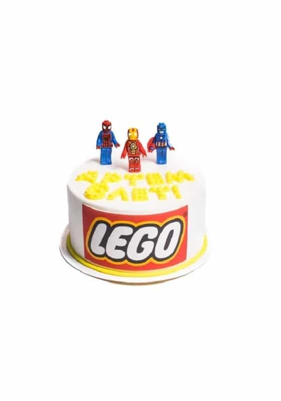 Торт Лего-супергерой