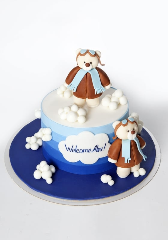 Торт Мишки Летчики