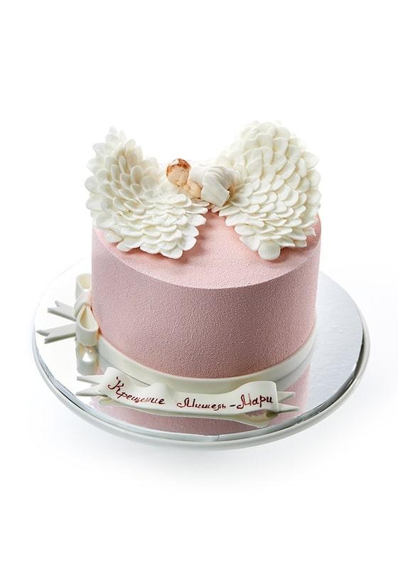 Торт на Крестины для Девочки