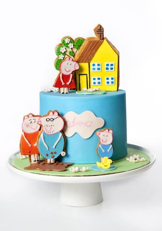 Торт Пеппин домик
