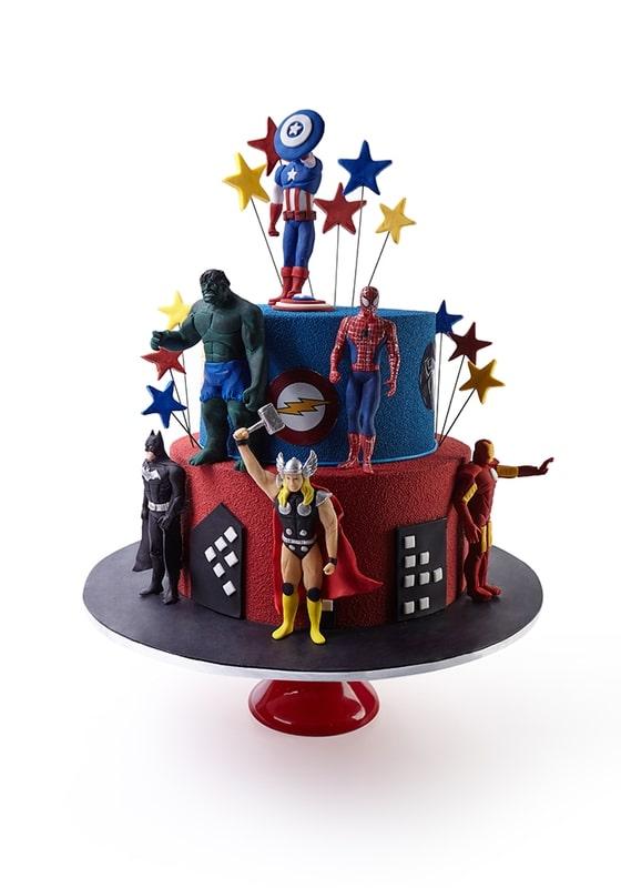 Торт с Героями Мстители