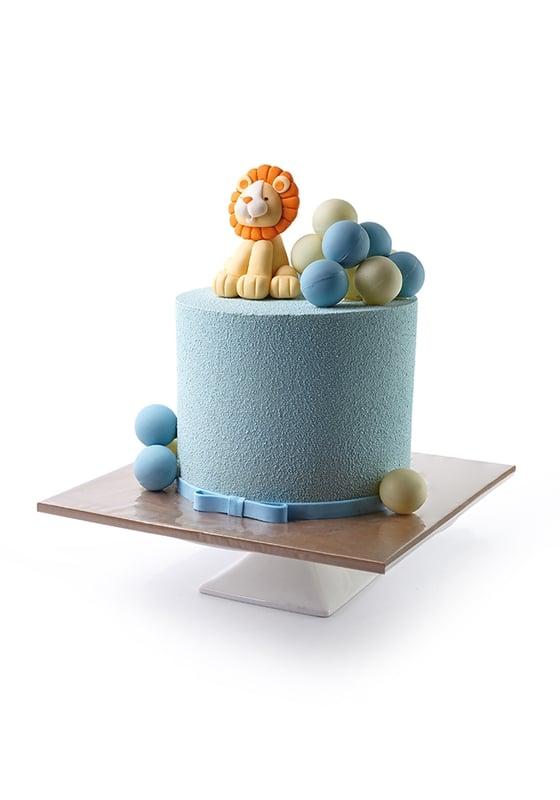 Торт с Львенком и Шариками
