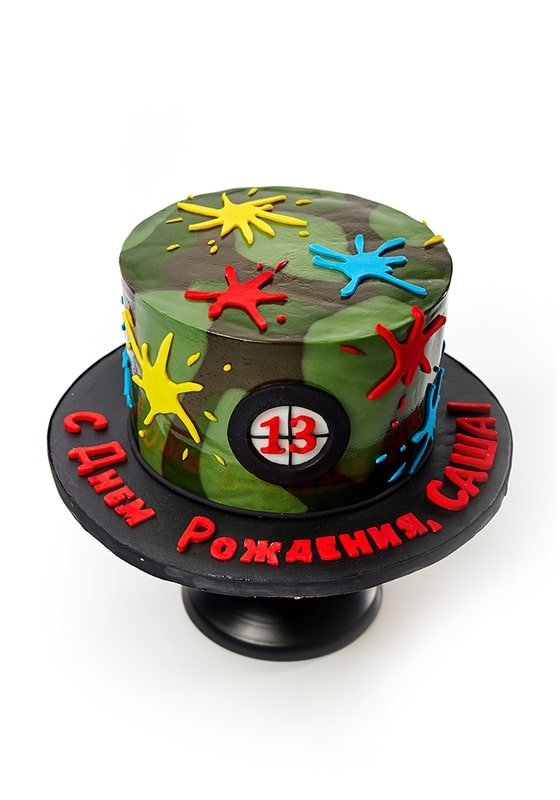 Торт с Пейтнбол