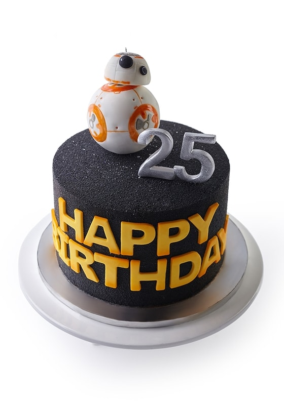 Торт с Роботом ВВ-8