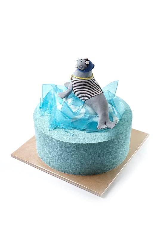 Торт с Тюленем
