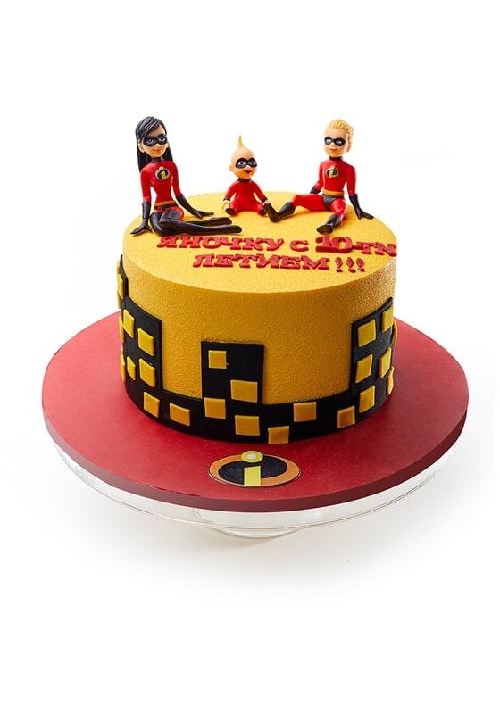 Торт Суперсемейка