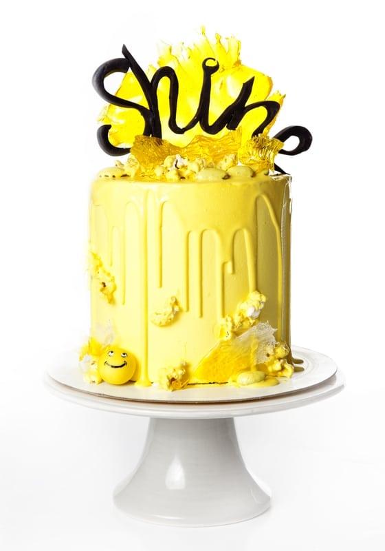Торт Желтая вечеринка