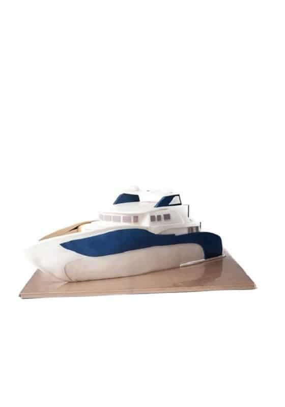 Торт Белая яхта
