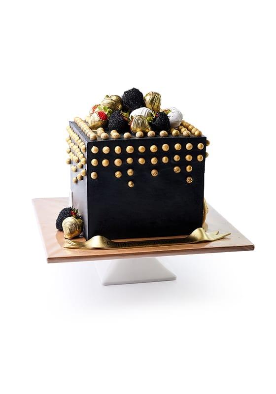 Торт Черный куб
