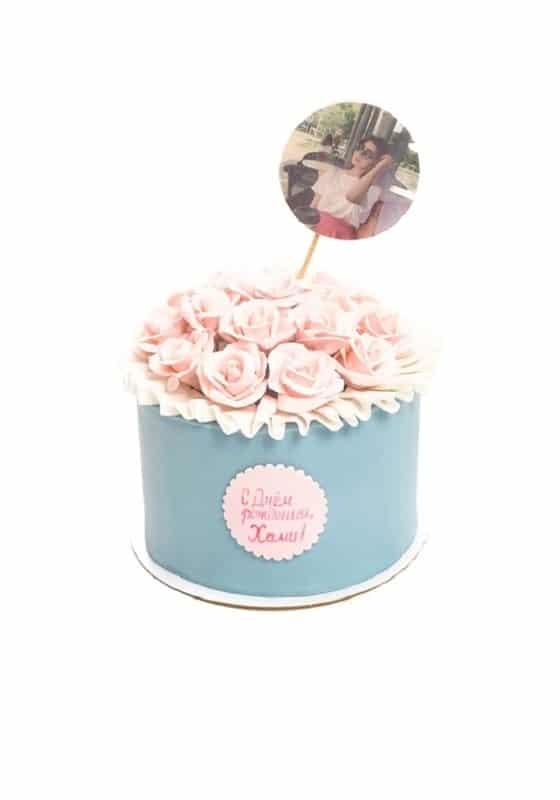 Торт Цветущий сюрприз