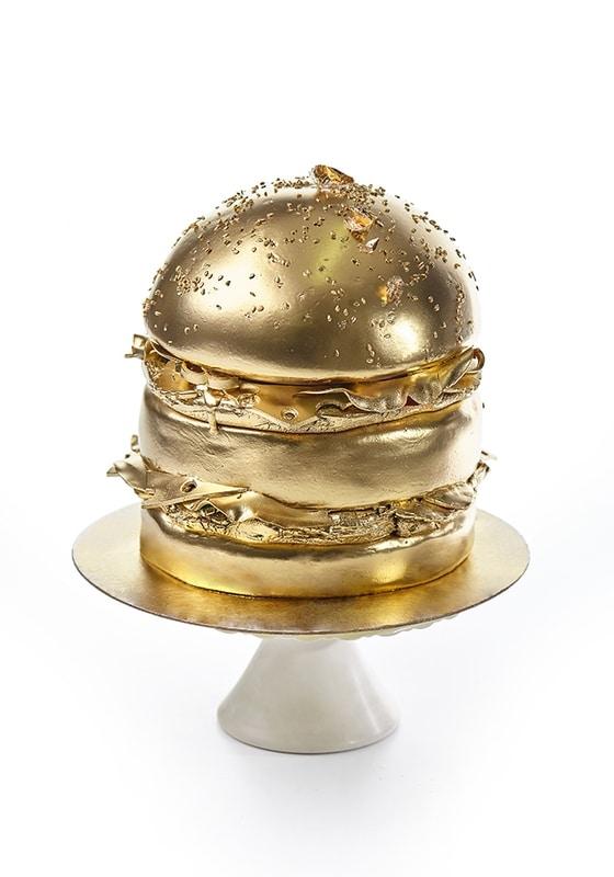 Торт Golden Burger