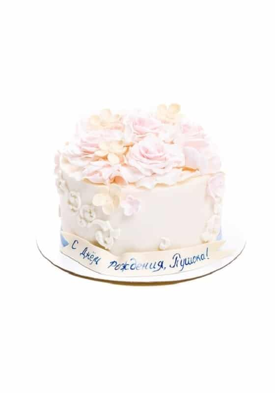 Торт Наивная Роза