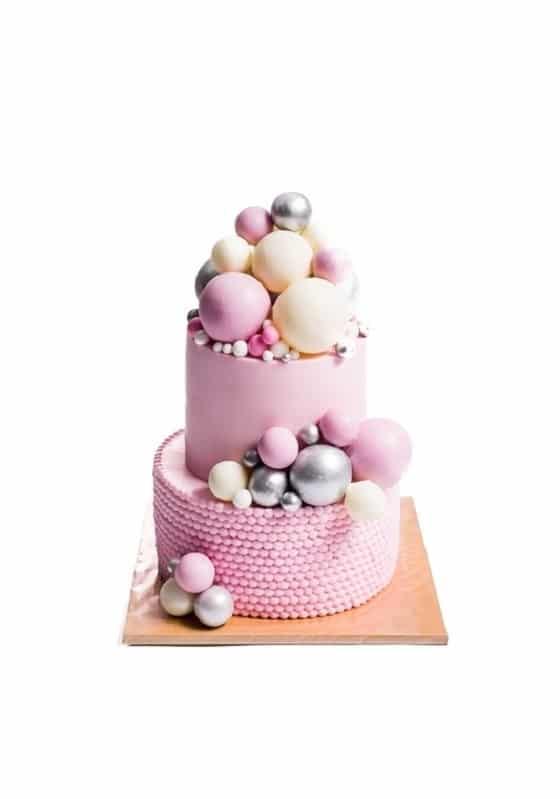 Торт с розовым Жемчугом