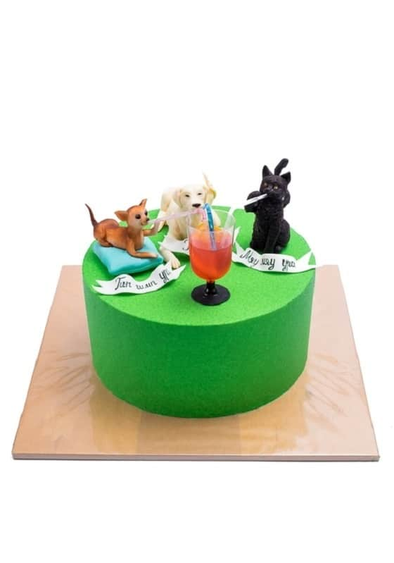Торт с Собачкой и Кошечкой