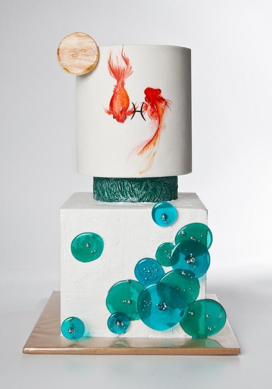 Торт с Золотой рыбкой