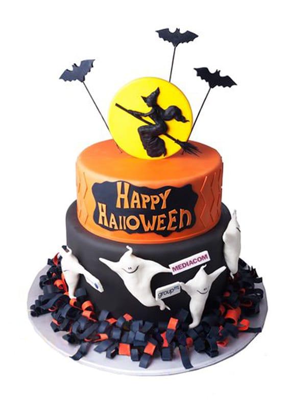 Торт Корпоративный на Хэллоуин