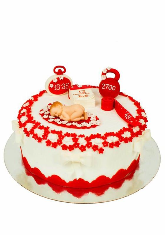 Торт на рождение Девочки