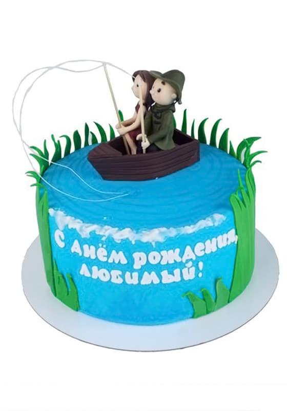 Торт Рыбалка