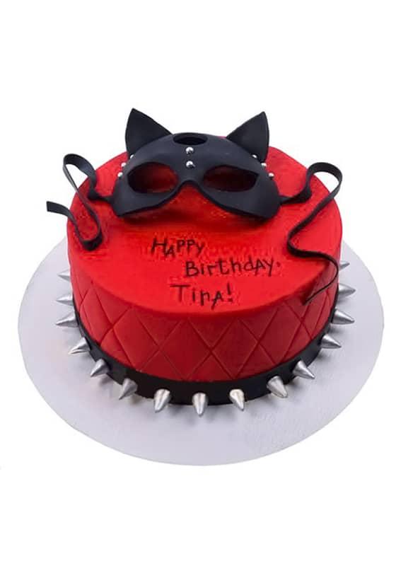Торт с Маской кошки
