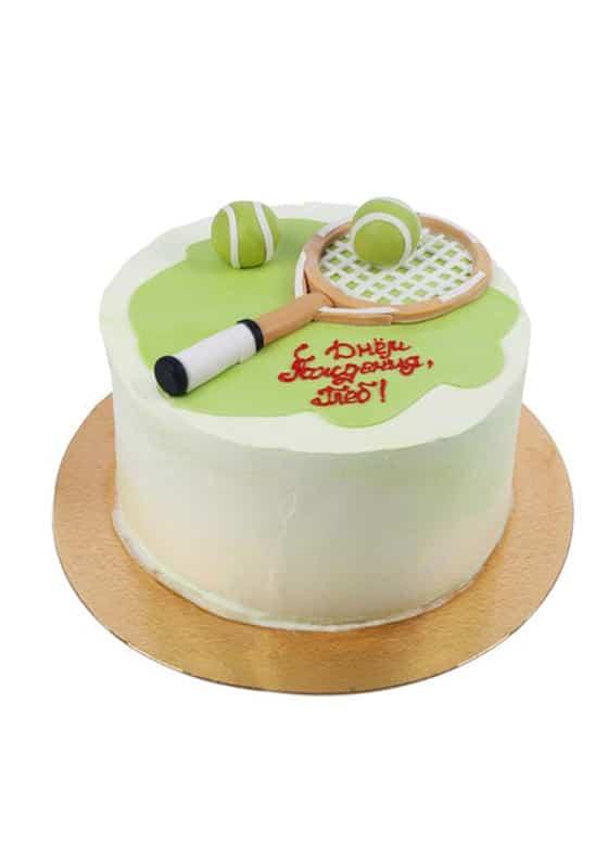 Торт с Теннисной ракеткой