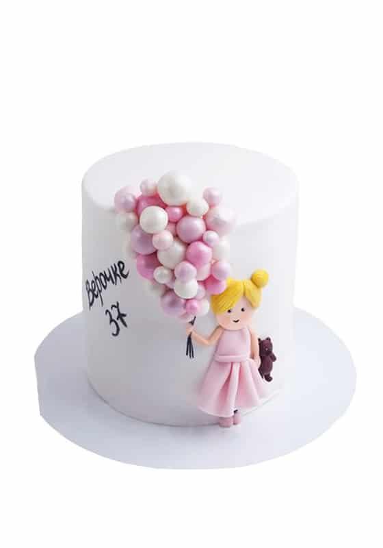 Торт с Воздушными шариками