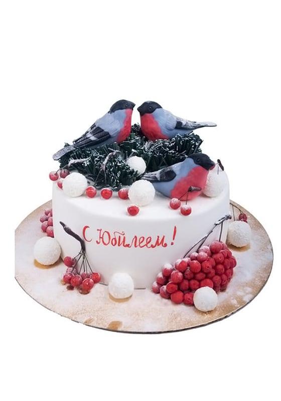 Торт со Снегирями