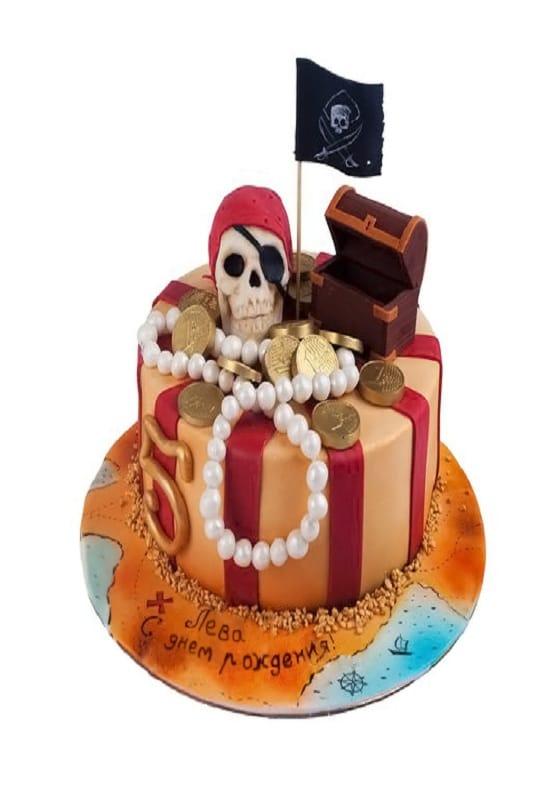 Торт в Пиратском стиле