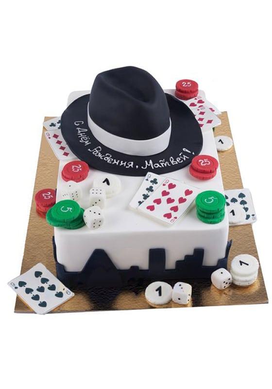 Торт в стиле Мафии