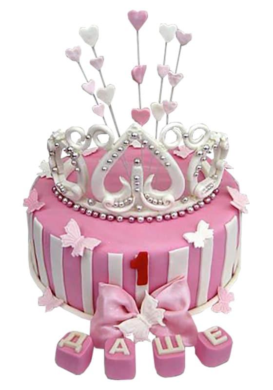 Торт с короной