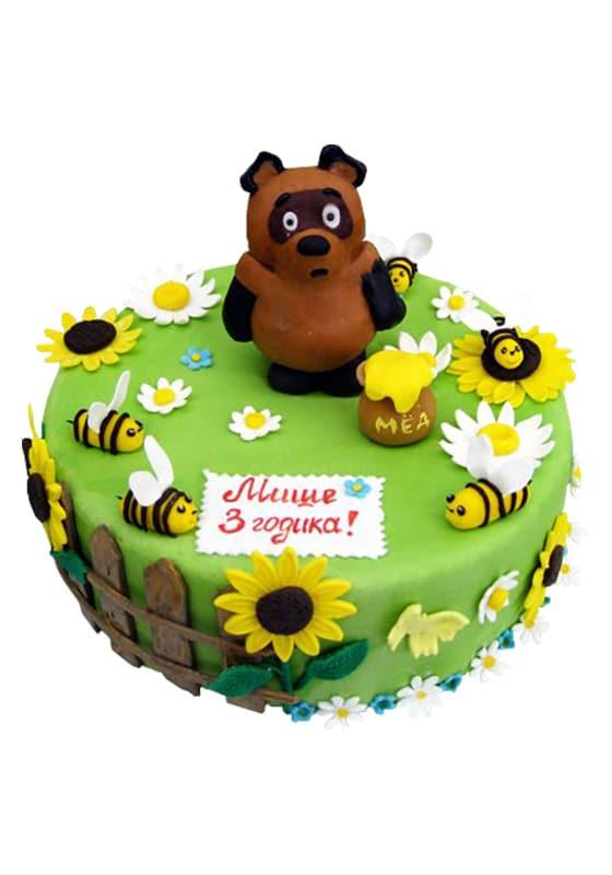 Торт с Винни пухом