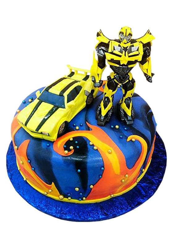 Торт трансформер Бамблби