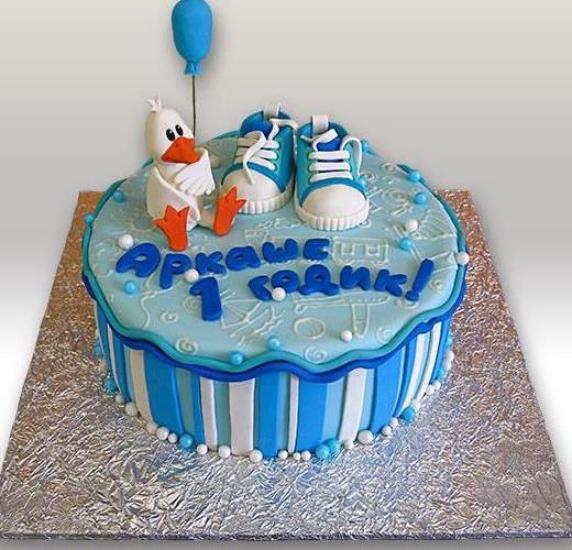 Торт мальчику 1 год