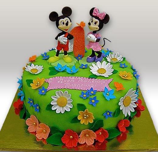 Торт с микки маусом