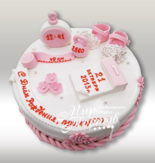 Торт на рождения