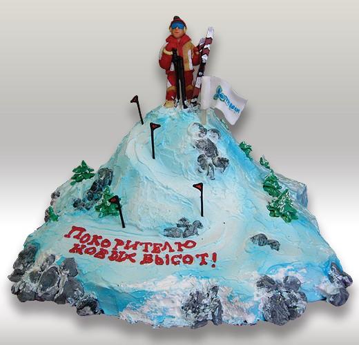 Торт для лыжника