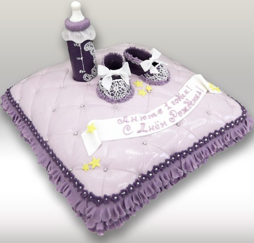 Торт в виде подушки