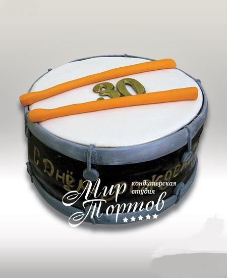 Торт барабан