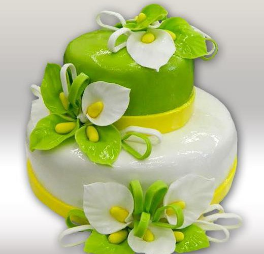 Торт с каллами