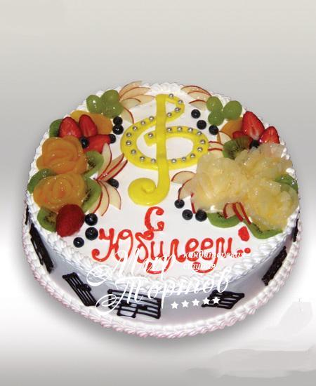 Торт для музыканта на юбилей