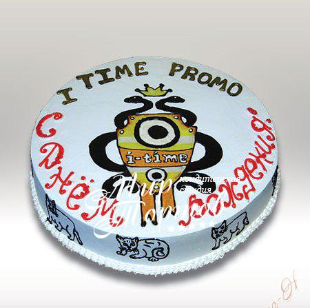 Торт I TIME PROMO