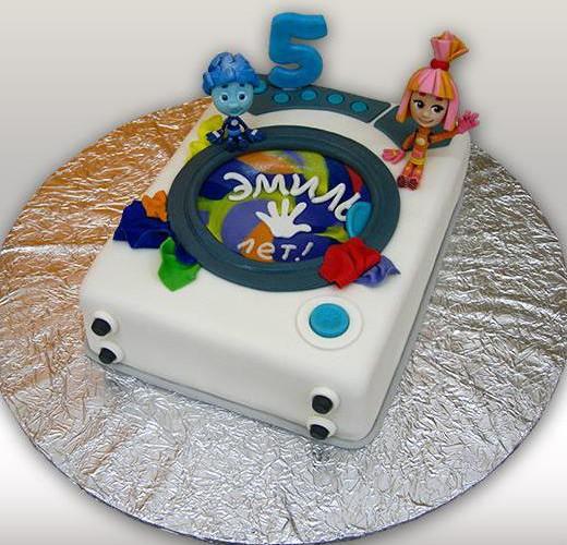 Торт с фиксиками