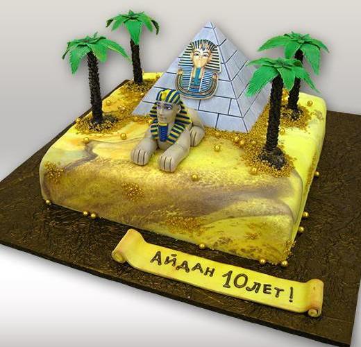 Торт пирамида