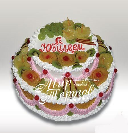 Торт на юбилей женщине
